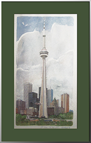 CN Tower / La Tour CN Commemorative  - Tom McNeely